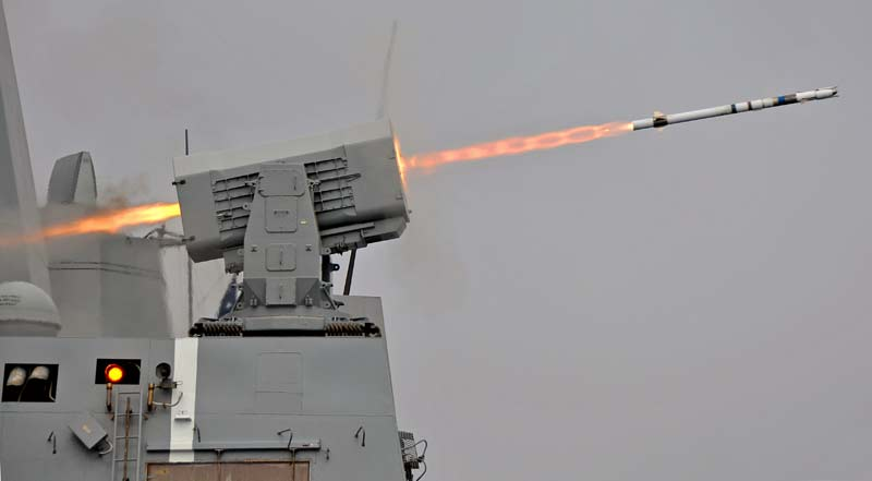 Зенитный ракетный комплекс RIM-116 RAM/ASMD