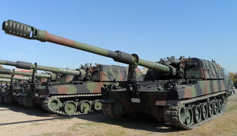 Самоходная артиллерийская установка T-155 Firtina