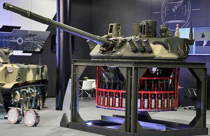 Боевой модуль Б8Я01 «Бахча-У» для легких БМП