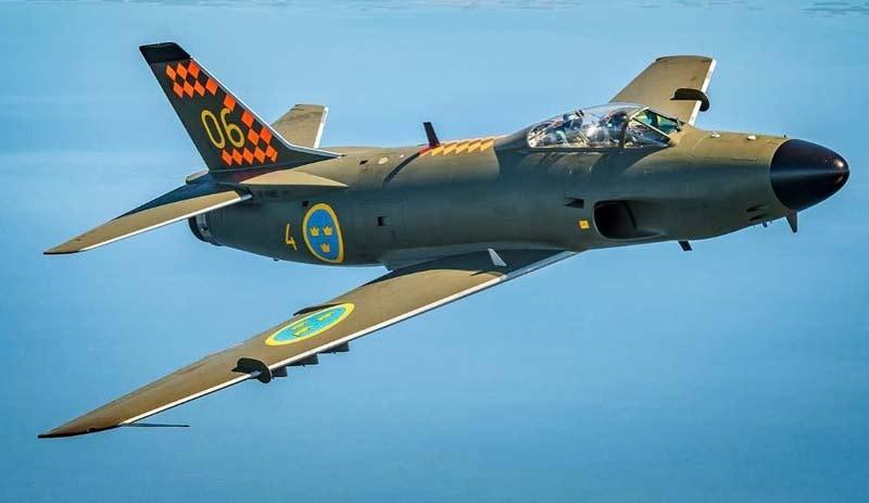 Многоцелевой истребитель Saab J32 «Lansen»