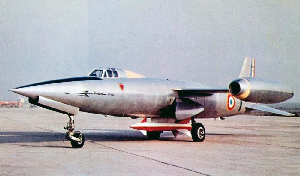 Истребитель-перехватчик SO.9050 «Trident II»