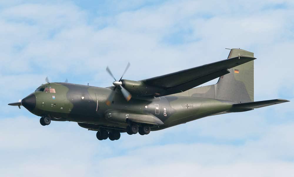 Военно-транспортный самолет Transall C-160