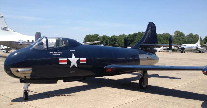Истребитель vought f6u 1 pirate сша
