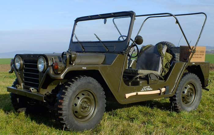 Армейский автомобиль M151 MUTT