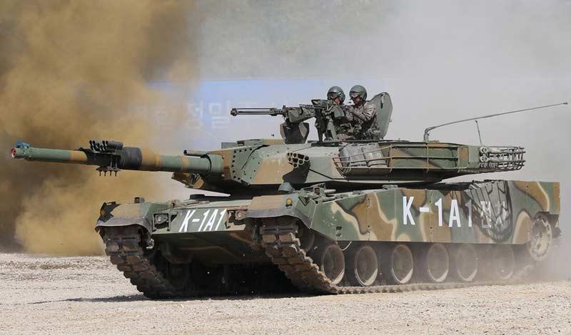 Основные боевые танки K1A1