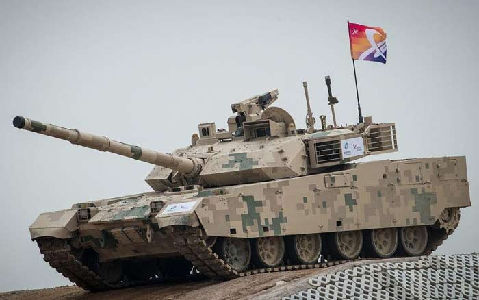 Основной боевой танк Norinco VT4