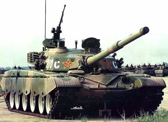 Основной боевой танк type 98 ztz98 китай