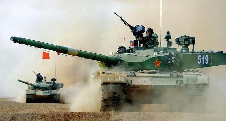 Основной боевой танк Type 99 (ZTZ-99)