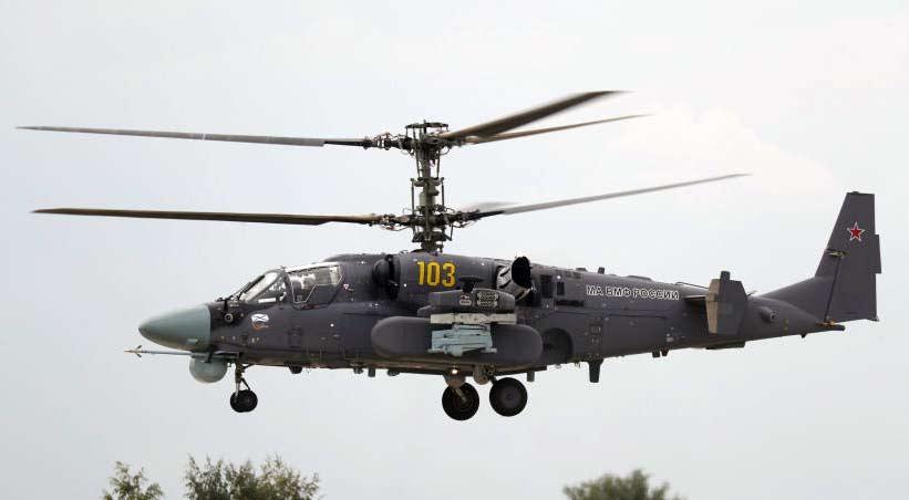 Боевой ударный вертолет Ка-52М