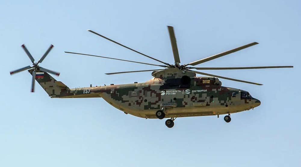 Военно-транспортный вертолет Ми-26Т2В