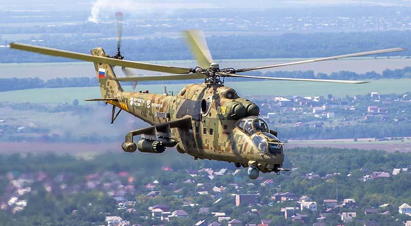 Многоцелевой боевой вертолет Ми-35П «Феникс»