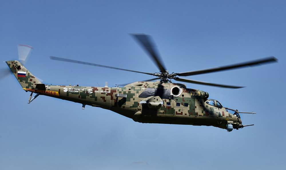 Транспортно-боевой вертолет Ми-35П